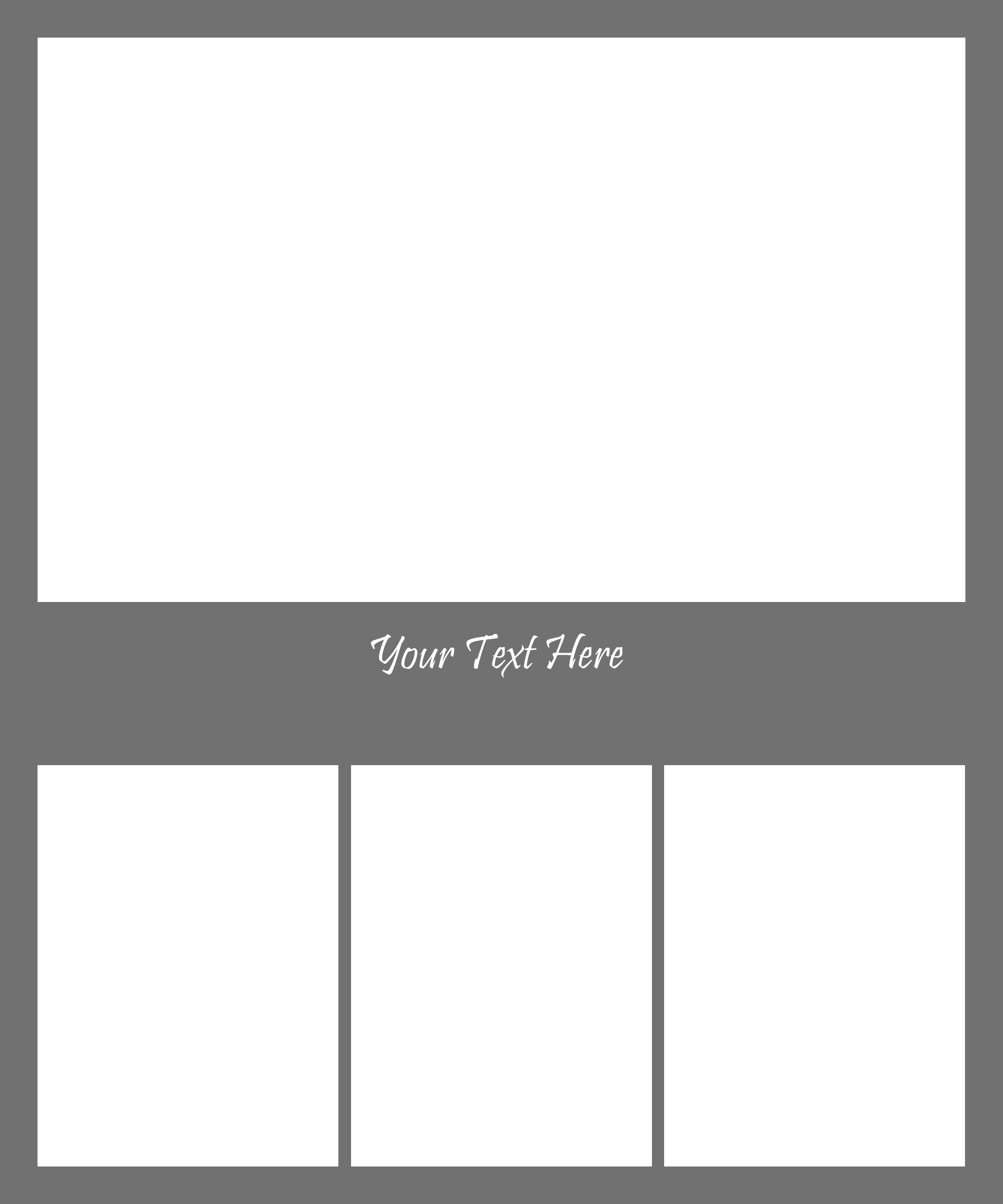 Collage Template 1 | Amy Christina Photography